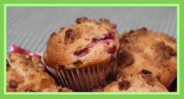 Rhubarb Muffins for Easter Brunch
