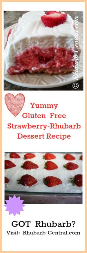 Gluten Free Rhubarb Recipe for Dessert
