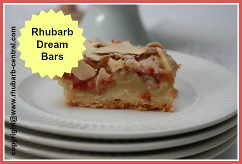 Rhubarb Dream Bars