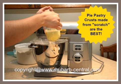 Making Pie Pastry Crust from Scratch