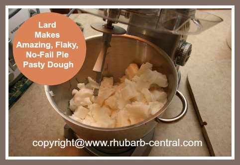 Making Pie Pastry Dough Using Lard