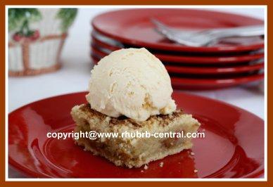 Rhubarb Coffee Cake Recipe for