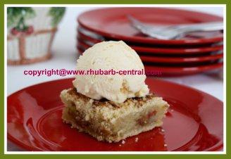 Sugar Free Rhubarb Cake Recipe