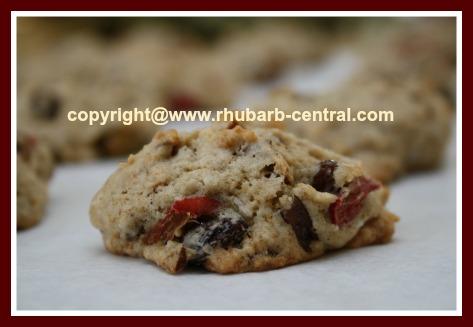 Rhubarb Cookie Recipe Homemade