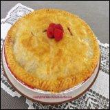 Rhubarb Pie for Thanksgiving Dessert