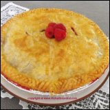 Rhubarb Raspberry Pie