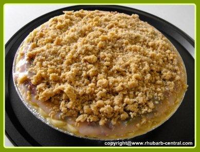 Making a Single Crust Rhubarb Pie