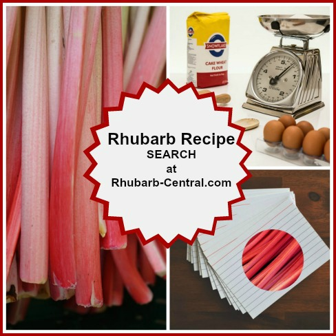 Search for Rhubarb Recipes Ideas