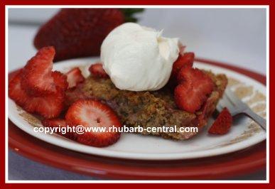 Raspberry Bars for Dessert