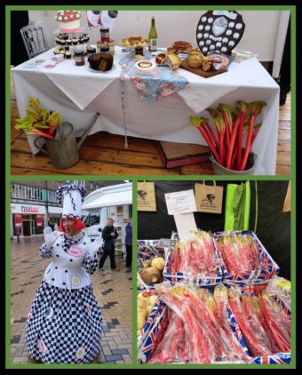 Wakefield England Rhubarb Festival Picture of