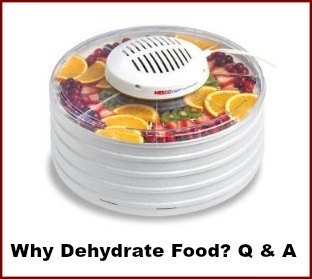 Why Dehydrate Food Questions & Answers