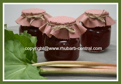 Best Homemade Rhubarb Jam Recipe, Canned / Cooked Rhubarb Jam