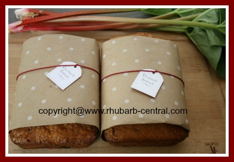 Easy Rhubarb Bread Recipe