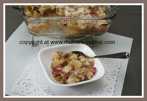 Fastest Rhubarb Dessert Recipe Rhubarb Pudding