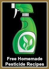 Free Recipes for Homemade Organic/Natural Pesticides for Bugs and Animal Repellants