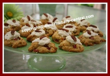 Picture of Frosted Rhubarb Cookies