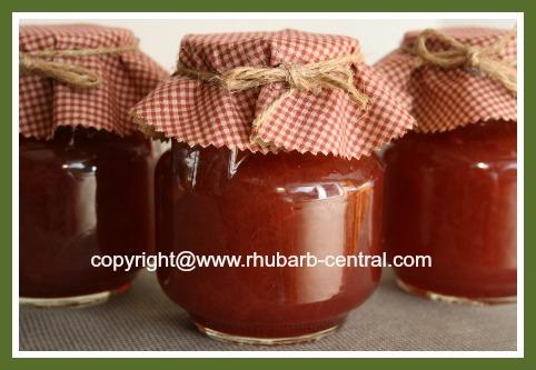 Plain Rhubarb Jam Recipe