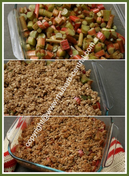 How to Make Rhubarb Crisp Dessert
