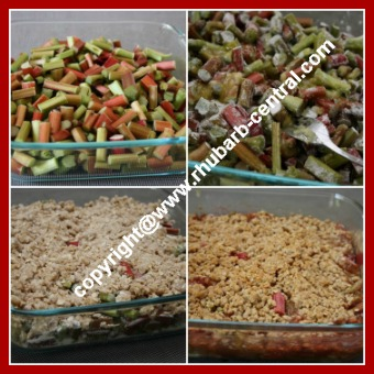 How to Make Rhubarb Crisp in the Microwave