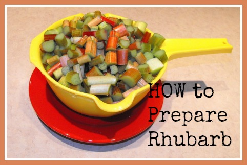 How To Prepare Rhubarb - What to do with Rhubarb