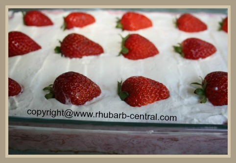 Idea for Recipe of Strawberries and Rhubarb