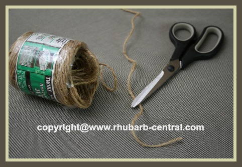 Make Your Own Jar Bonnet Cover with Fabric Material / Measure String