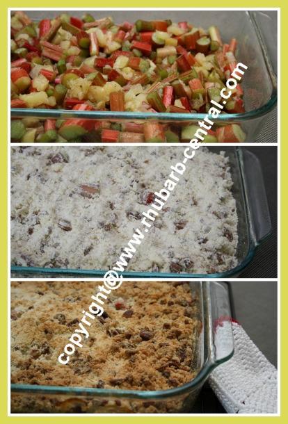 Pineapple Rhubarb Easy Dessert Recipe
