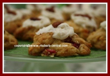 Recipe for Rhubarb Cookies