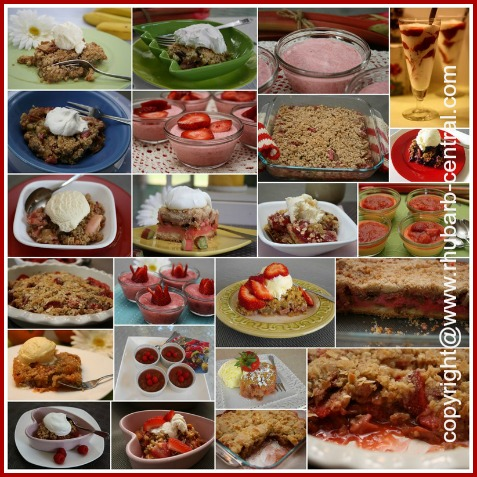 Rhubarb Dessert Recipes Ideas