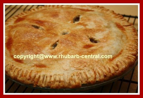 Rhubarb Pineapple Pie