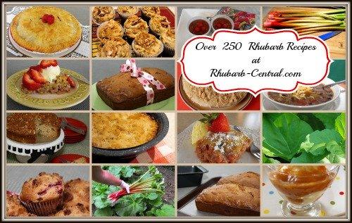 Rhubarb Recipe Images - Homemade Recipes made with rhubarb