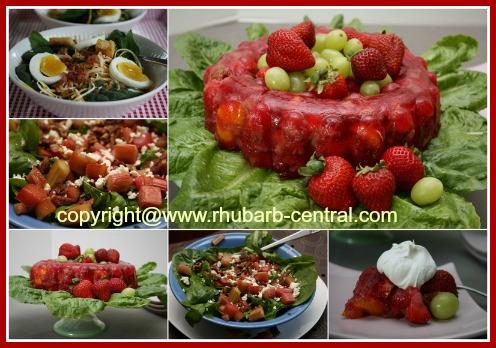 Rhubarb Salad Recipes to Make