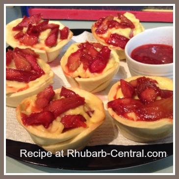 Rhubarb Custard Tart Recipe