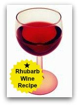 Rhubarb Wine Recipe! at www.rhubarb-central.com