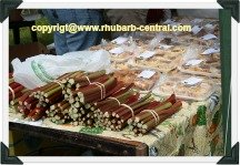 Rosy Rhubarb Festival Rhubarb For Sale